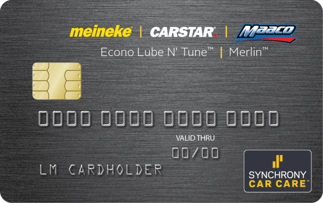 The Driven Brands Credit Card