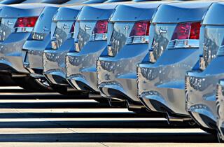 Maaco: Fleet of vehicles