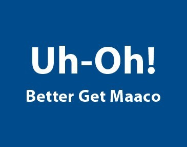 Uh-Oh! Better Get Maaco