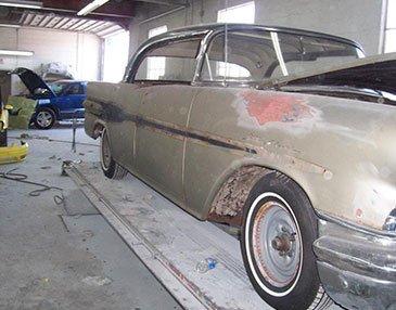 56 starchief before restoration